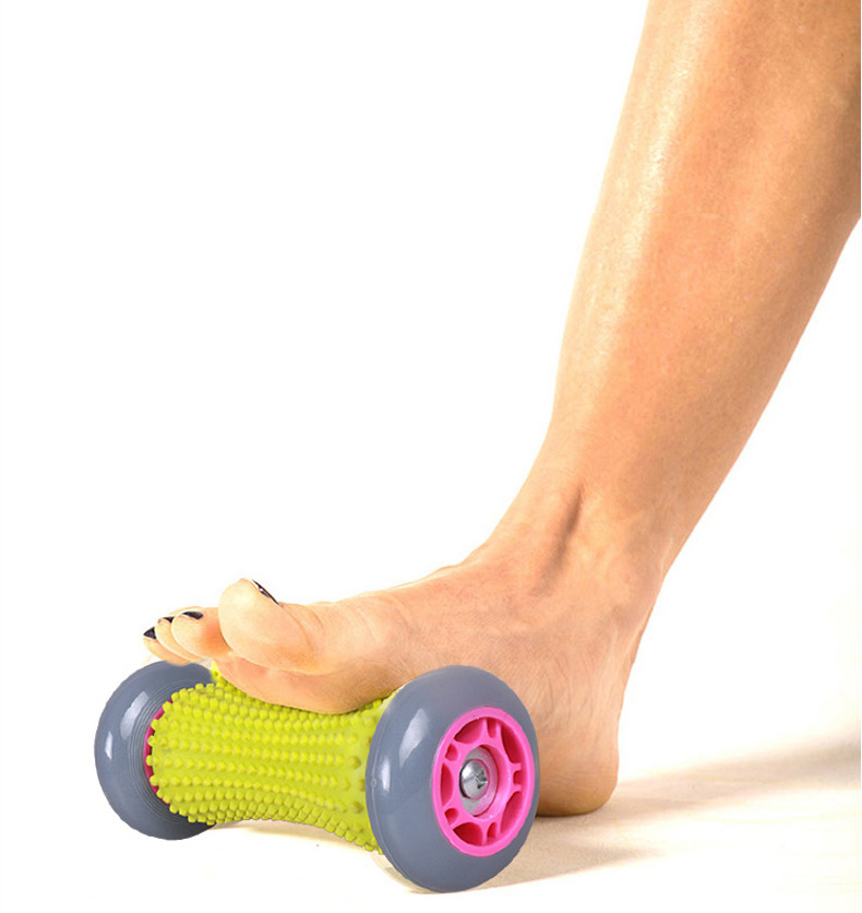 Foot & Hand Recovery Massage Roller Pain Relief Acupoint Reflexology Acupressure Blood Circulation Relaxation Tool Stress Relax hand massager ball roller finger rolling massage floating point acupoint blood circulation fitness health care stress relax