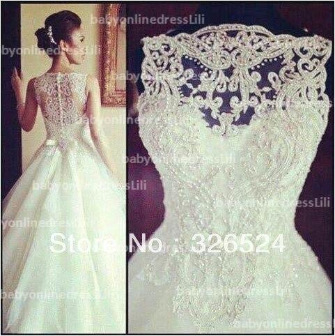 Aliexpress.com : Buy New Arrival vestido de noiva wedding dress 2014 ...