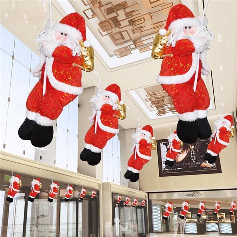 Beste Kopen Kerst Pop Kerstman Klimmen Op Touw Ladder Kerstboom