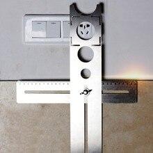 Плитка мрамор стекло керамический пол сверление отверстие направляющие инструменты отверстие открывалка локатор регулируемое положение линейка перфоратор локатор