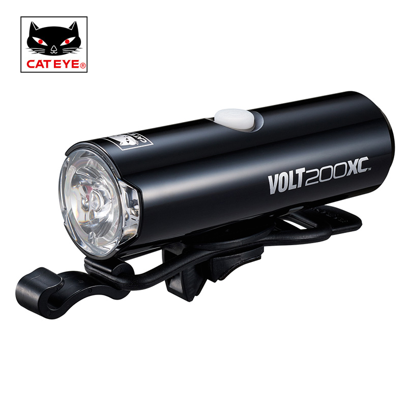 CATEYE VoltXC Series Bicycle Rechargeable Headlights 100/200/400/500 Lumens White LEDs Lamp Bike Flashlight Cycling Accessories