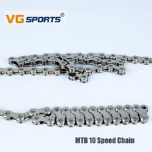 VG Sports 10Speed Folding Bicycle Variable Speed Chain Mountain Bike Solid Chain for MTB Road Bicycle 30-Speed 116-Knot Chain vg sports 6 7 8 speed bike chain mtb mountain road folding bike bicicleta parts steel solid chain bicycle replacement 116 link