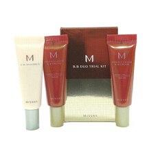 Misha m bb duo trial kit c (#29 #27) misha bb boomer primer 10ml + misha m capa perfeita bb creme 10ml coreia cosméticos