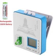 Совершенно перезаряжаемый портативный аудио кассетный магнитофон и ретранслятор предложения со встроенным динамиком наушники