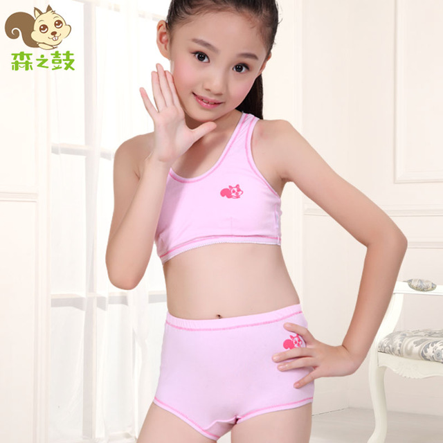 Aliexpress.com : Buy Drum young girl underwear young girl bra ...