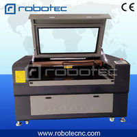 1390 fabric wood engraving cutting double head laser machine