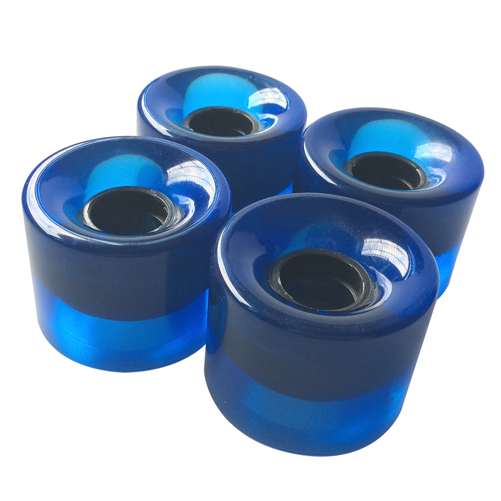 4pcs/set Cruiser Skateboard Wheels Blank Pro 60X45 Mm Longboard Wheel Fit 22 Inch Plastic  Backpack Skate Board