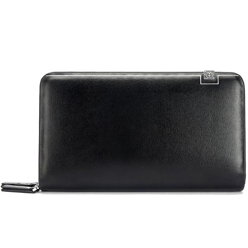 bolsa de couro masculinos dos Wallet Size : W22 * H13 * T5 CM