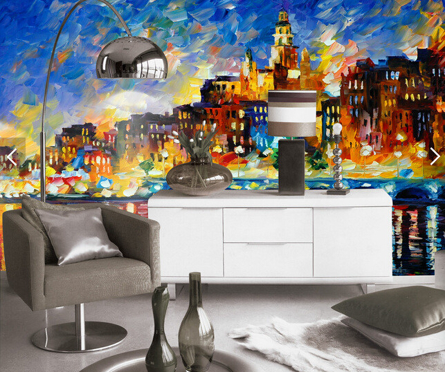Custom wallpaper for walls 3 d,Modern urban style solid oil painting for the living room bedroom wall waterproof wallpaper custom baby wallpaper snow white and the seven dwarfs bedroom for the children s room mural backdrop stereoscopic 3d