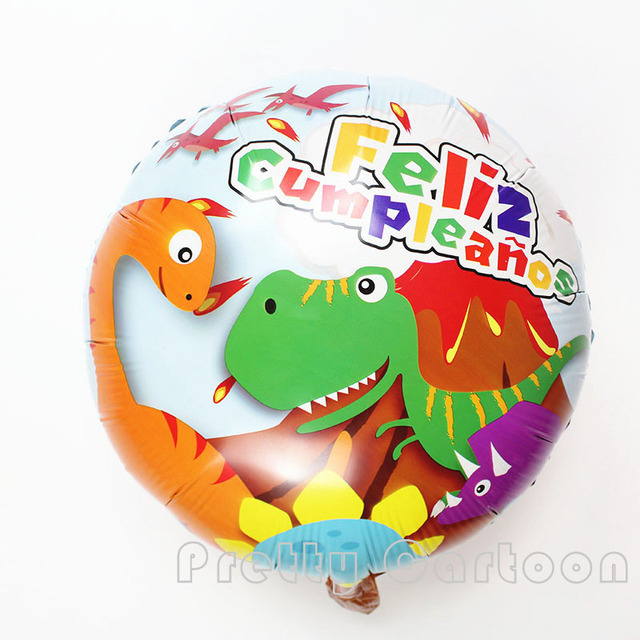 18inch 30pcs lot dinosaur balloon kids birthday wedding party