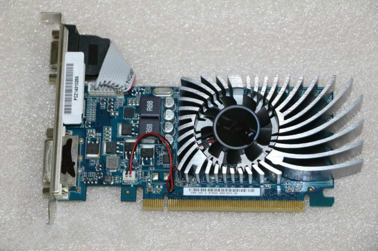 Used,original ASUS GT630 2G half-height card HD graphic card,100% tested good! u009 used ni pci 6025e multifunction daq card good condition used but tested good working free shipping