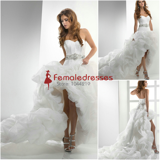 Short Wedding Dresses with Pick UPS