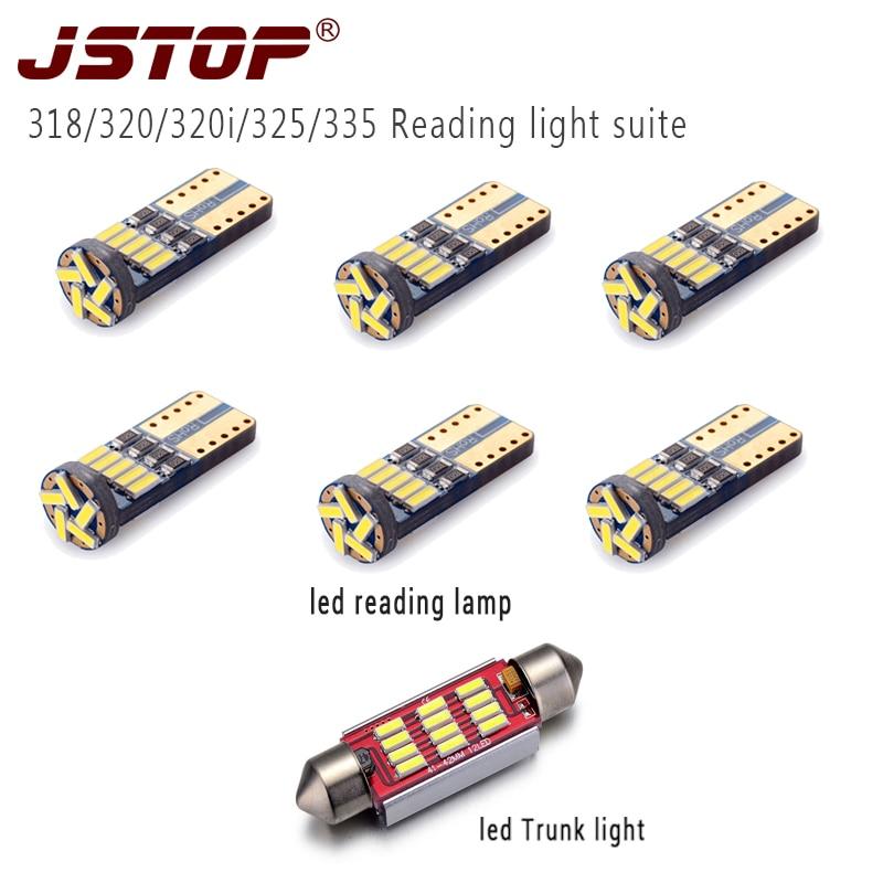 JSTOP 7 teile / satz 318/320/320i/325/335 hohe qualität led auto - Auto Lichter
