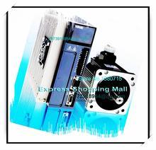 MS-130ST-M10015B-21P5 DS2-21P5-AS 220VAC 1.5KW AC Servo Motor & Drive kits