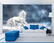 beibehang Fashion dream high-definition waterproof wallpaper fantasy sky TV background wall papel de parede 3d tapety