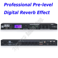 Microphone Digital KTV Effects Processor System Professional Sound Controller System Equipment Effector with Software PC KX200