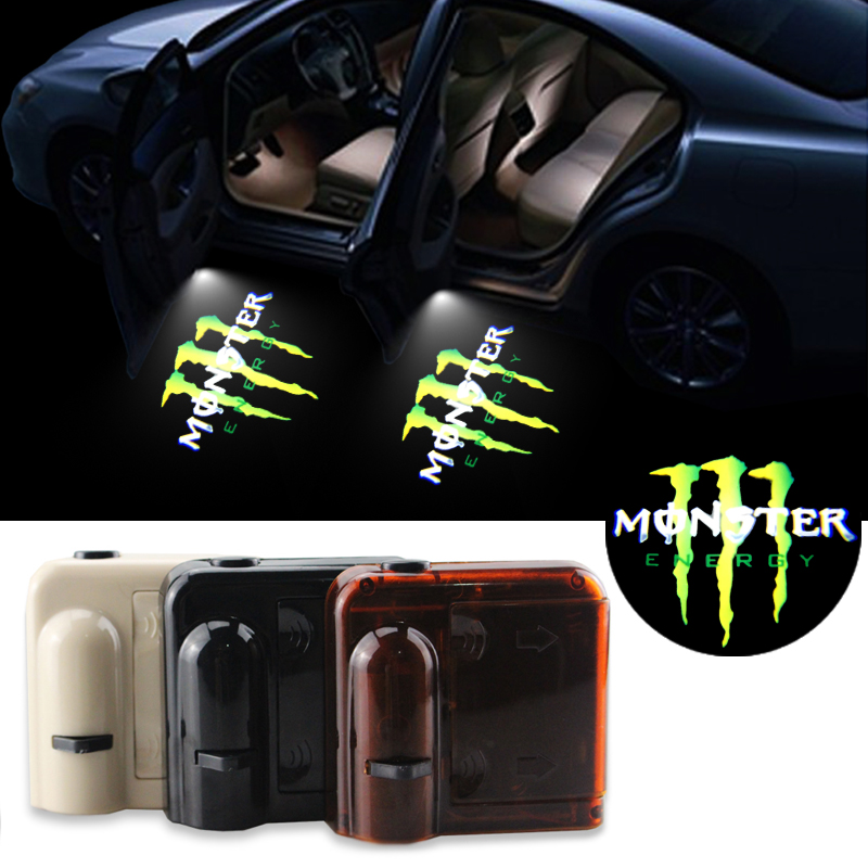 Wireless Car Projection Light Led Door Welcome Lights