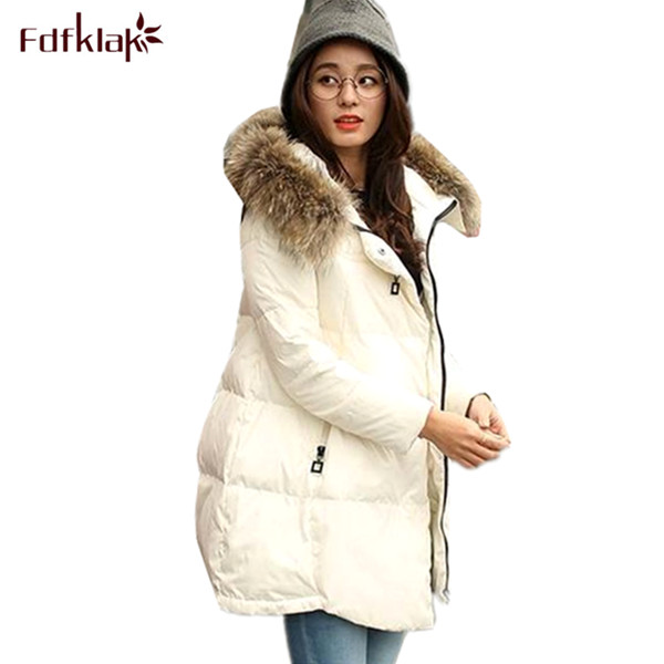 Woman winter warm coat 2018 new plus size female coats hooded thickening womens winter jackets ladies parka S-4XL A298