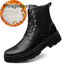 Phragmites Warm Plush Martin Boots Anti-slip Cotton Sexy Women Shoes Snow Ankle Plus Size 46 Bboots Botas Mujer