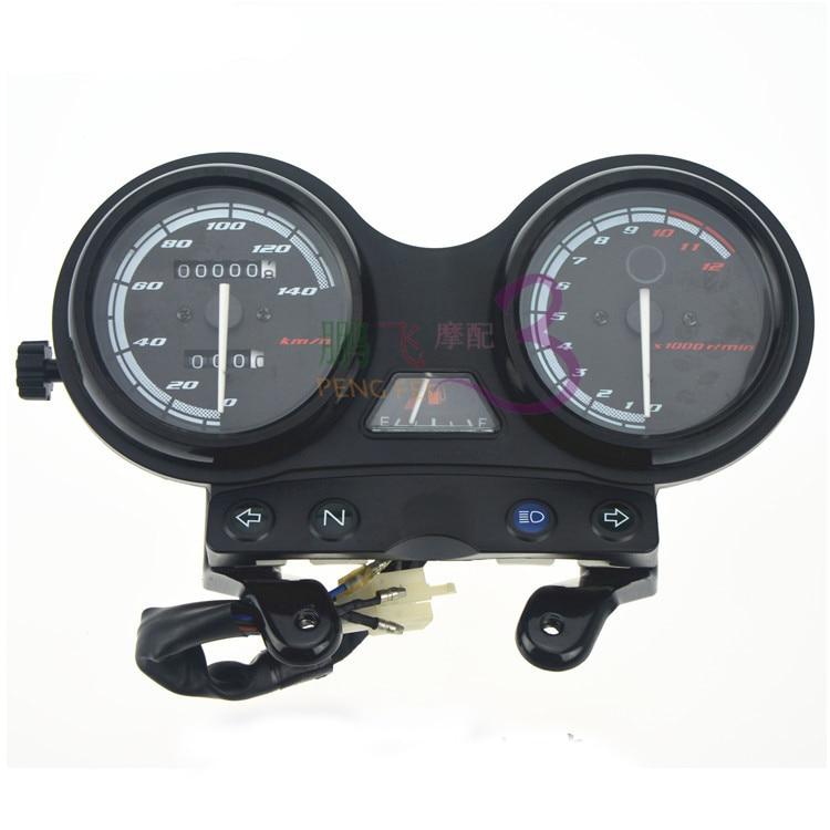 Motorcycle Tachometer Speedometer Meter Gauge Moto Tacho Instrument clock case for YAMAHA YBR 125 2005-2009 Euro II version motorcycle crank shaft euro ii emission version engine for yamaha ybr125 jym 2005 2009 new crankshaft