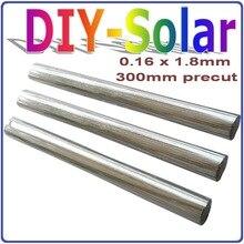 300 Precut 1.8×0.16mm  Solar Cells PV Ribbon, Any Size,Suitable for  156 Solar Cells, Precut Leady Solar Tabbing Wire