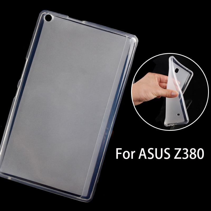 Soft Silicone phone cover case for ASUS Zenpad 8 0 Z380 Z380C Z380KL 8 inch tablet