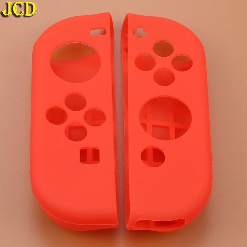 Image 5 - JCD 1pcs Game Accessories Soft Silicone Case Cover Skin Left Right for Nintend Switch NS Joy Con Console Controller-in Cases from Consumer Electronics