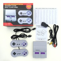 8 Bit Mini Family TV Retro Handheld Game Consoles Video Game Console 2 Players Gamepads PAL&NTSC Built in 660 Classic Games