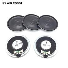 5pcs/lot New Ultra-thin speaker 4 ohms 3 watt 3W 4R speaker Diameter 40MM 4CM thickness 5MM