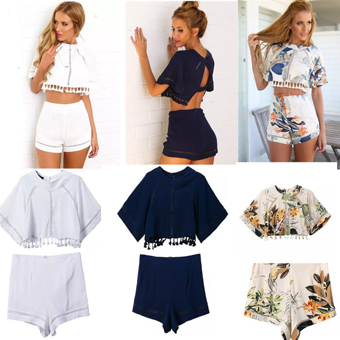 Online Get Cheap White Jumpsuit Shorts -Aliexpress.com | Alibaba Group