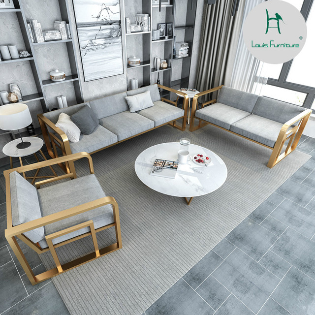 Louis Fashion Living Room Chairs Nordic Office Studio Hotel Modern Simple Small  Apartment Single Person Double
