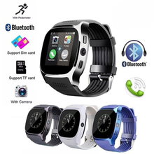 T8 HD screen Smart Watch Support SIM card Camera Bluetooth  Music Multifunction watch for men or women relogio masculino