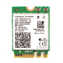 Dual Band 2400Mbps Wireless For Intel AX200 NGFF M.2 Bluetooth 5.0 Wifi Network Card AX200NGW 2.4G/5G 802.11ac/ax Better 9260 new for intel dual band wireless n 7265 7265ngw 802 11n 2 x 2 wifi 300mbps ngff m 2 card 7265nb 2 4g 5g