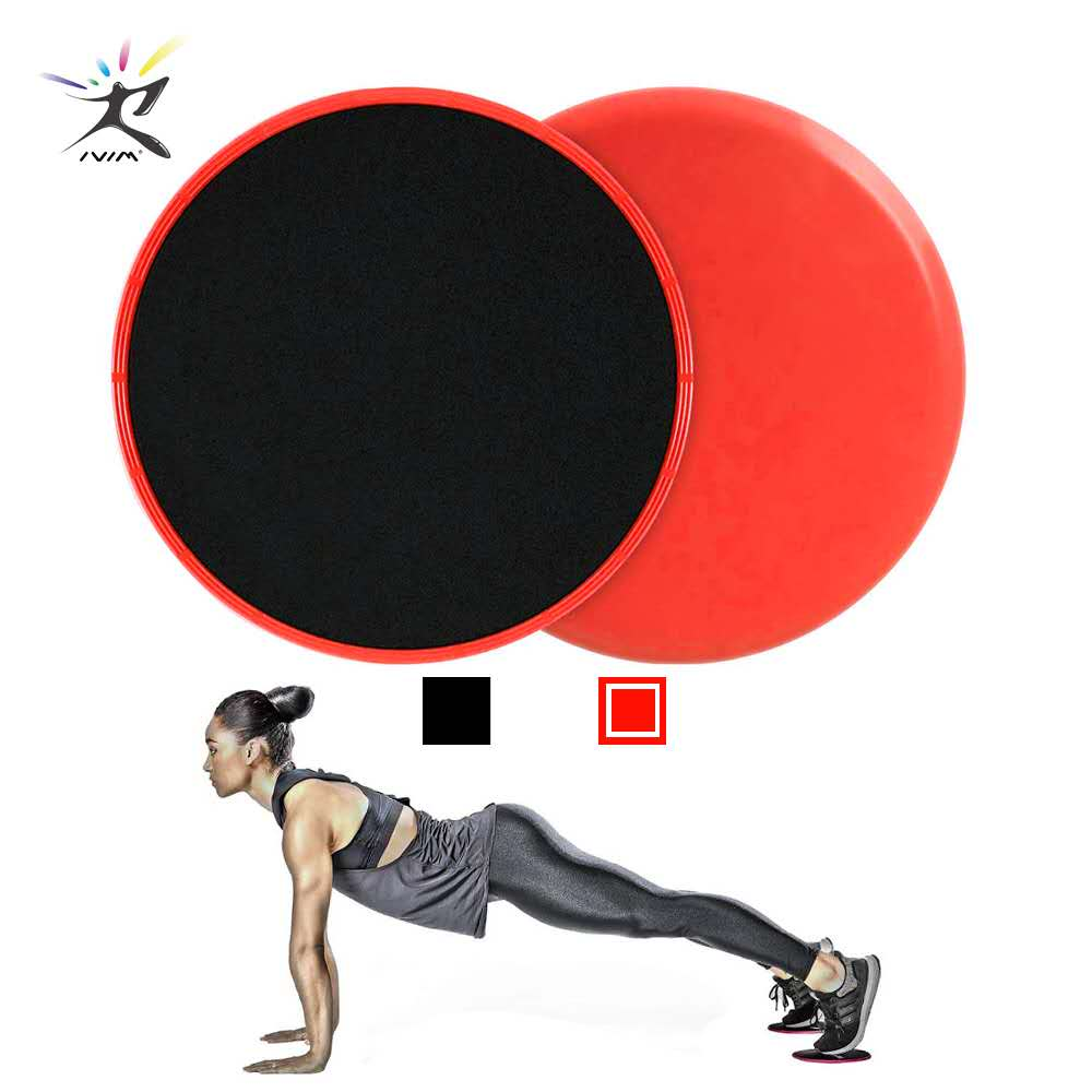 1 pair Glid Discs Fitness Abdominal Workout Exercise Yoga Training Slider Disc Core Gliding Discs Crossfit Workout Equipment