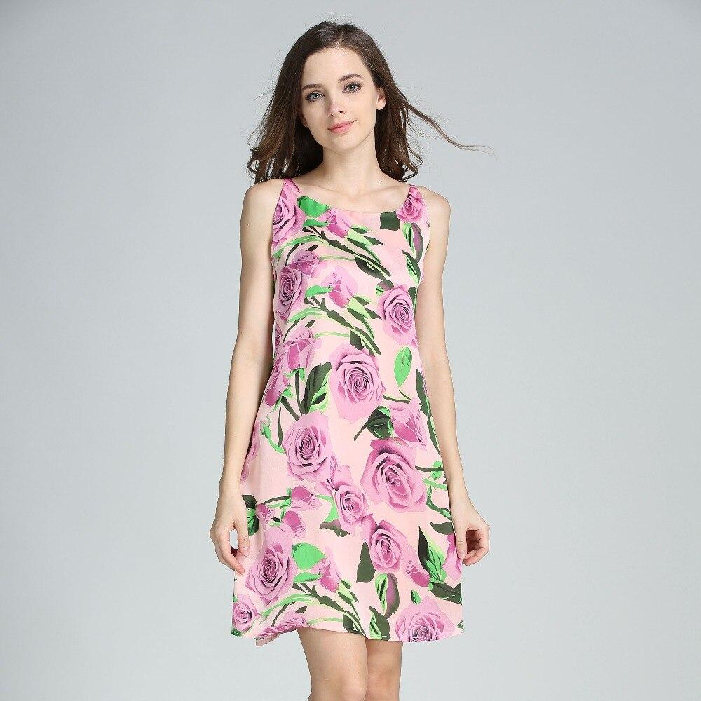 Женская мода шелковое платье макси