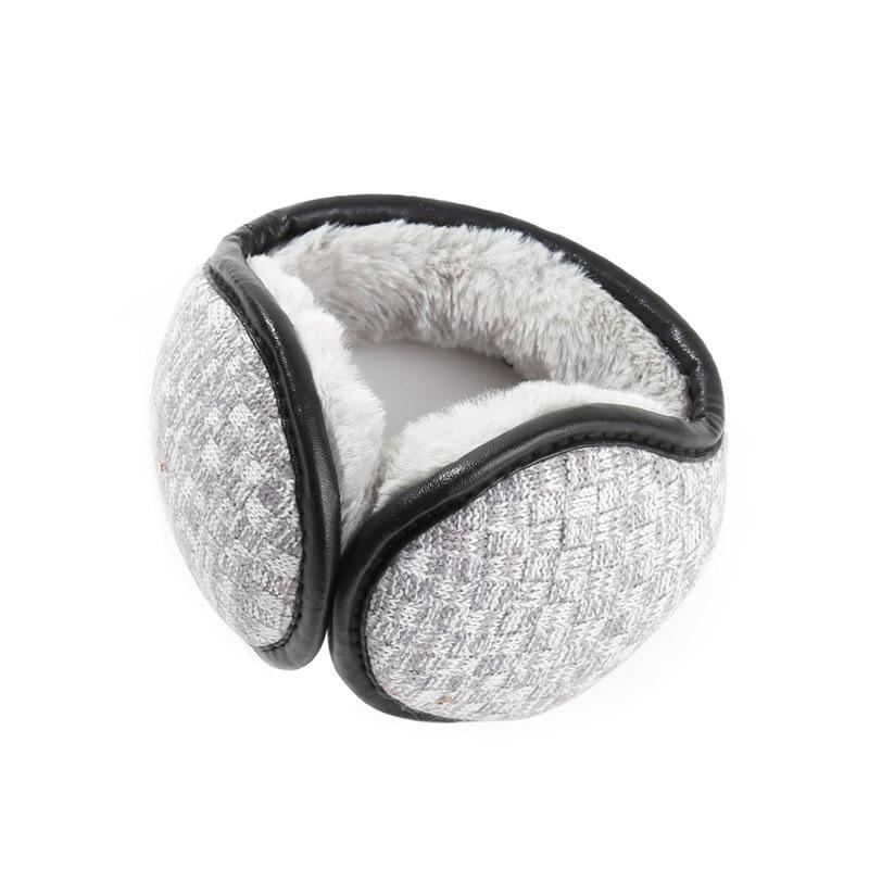 AZUE Winter Fuzzy Ear Cover Women Warm Knitted Earmuffs Plush Ear Muffs Earlap Ear Warmers For Men/Women