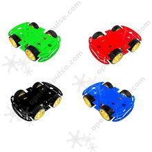 Four color for choose Robot Kit with 4 Motors(China)