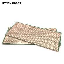 1 шт. DIY Зеленый 6,5*14,5 см Прототип бумага PCB Универсальный Эксперимент Матрица платы 6,5x14,5 см
