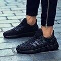 2017 Nuevos Zapatos Masculinos Hombres Superestrella Deporte Zapatos Ocasionales de Los Hombres Entrenadores Marca de Lujo Cesta De Malla de Aire Zapatillas Deportivas Hombre