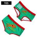 A qualidade superior do algodão dos desenhos animados underwear mulheres calcinhas cuecas sensuais tangas cueca calzoncillo cuecas listradas calcinha impressão de natal