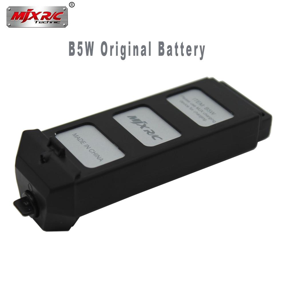 100% Original MJX Bugs 5W 7.4V 1800 MAH Li-Po Battery for MJX B5W High speed brushless RC Drone Spare Parts Accessories Battery free shipping mjx x101 2 4g 4 channels r c quadcopter rc drone 7 4v 1200 mah li po battery