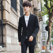 Mens Long Sleeve Suits Blazers Fashion Business Casual Men Coat Hot Sale Popular Male Jackets Size S-3XL Slim Comfortable Select