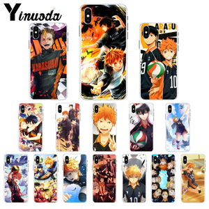 Yinuoda Japanese Anime Haikyuu Volleyball Soft TPU High Quality Phone Case for iPhone 8 7 6 6S Plus X XS MAX 5 5S SE XR Cover(China)