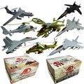 8 pçs/set plástico 4D montado avião 1 : 165 escala montagem do enigma lutador militar brinquedos para crianças frete grátis