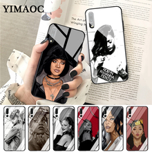 купить YIMAOC Rihanna Anti Work Drake Glass Case for Huawei P10 lite P20 Pro P30 P Smart honor 7A 8X 9 10 Y6 Mate 20 дешево