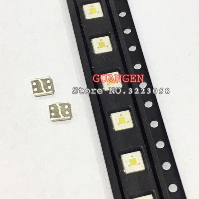 ORIGINAL 200PCS LUMENS LED Backlight Flip-Chip LED 2.4W 3V 3535 Cool White 153LM For SAMSUNG LED LCD Backlight TV Application