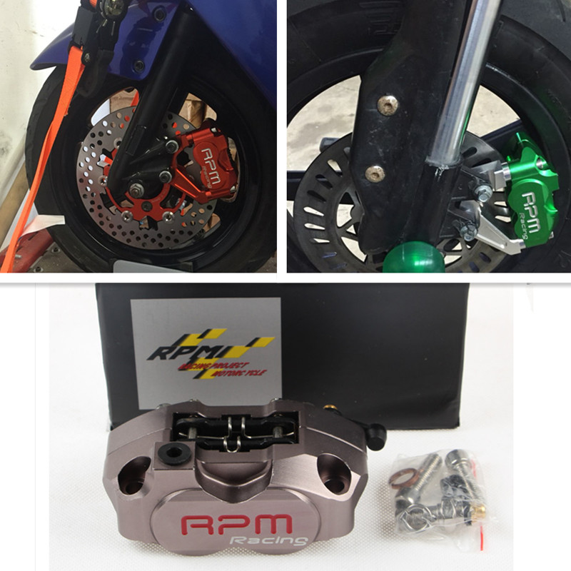 Universal RPM Brand CNC Motorcycle Modification Electric Motorcycle Four Piston Brake Calipers For Yamaha Honda Suzuki Ducati