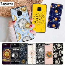 Lavaza Sun Moon Stars Colorful Cute Silicone Case for Huawei Mate 10 Pro 20 30 Lite Nova 2i 3 3i 4 5i Y5 Y6 Y7 Prime Y9