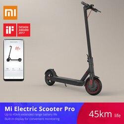 Xiaomi mijia M365/Pro erwachsene elektrische roller longboard hoverboard skateboard 2 rad patinete electrico roller 45KM laufleistung