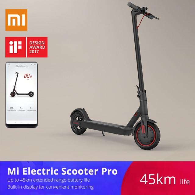 Xiaomi mijia M365/Pro Электрический скутер для взрослых longboard скейтборд Ховерборд 2 колеса patinete электрический скутер 45 км